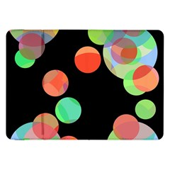 Colorful Circles Samsung Galaxy Tab 8 9  P7300 Flip Case by Valentinaart