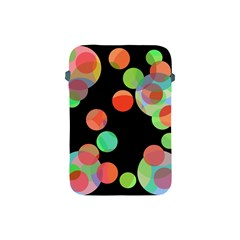 Colorful Circles Apple Ipad Mini Protective Soft Cases by Valentinaart