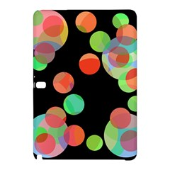 Colorful Circles Samsung Galaxy Tab Pro 12 2 Hardshell Case by Valentinaart