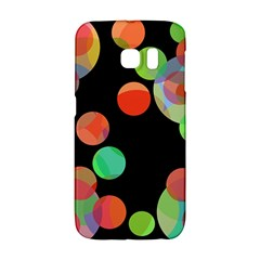 Colorful Circles Galaxy S6 Edge by Valentinaart