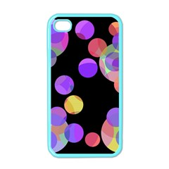 Colorful Decorative Circles Apple Iphone 4 Case (color) by Valentinaart