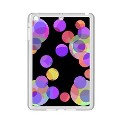Colorful Decorative Circles Ipad Mini 2 Enamel Coated Cases by Valentinaart