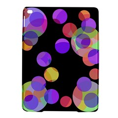Colorful Decorative Circles Ipad Air 2 Hardshell Cases by Valentinaart
