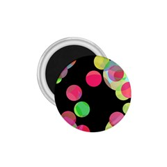 Colorful Decorative Circles 1 75  Magnets by Valentinaart