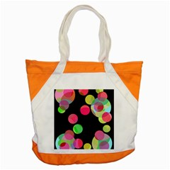 Colorful Decorative Circles Accent Tote Bag by Valentinaart