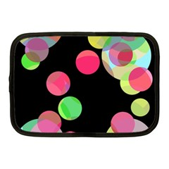 Colorful Decorative Circles Netbook Case (medium)  by Valentinaart