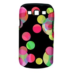 Colorful Decorative Circles Samsung Galaxy S Iii Classic Hardshell Case (pc+silicone) by Valentinaart