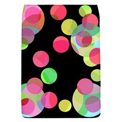 Colorful Decorative Circles Flap Covers (s)  by Valentinaart
