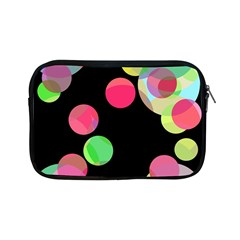 Colorful Decorative Circles Apple Ipad Mini Zipper Cases by Valentinaart
