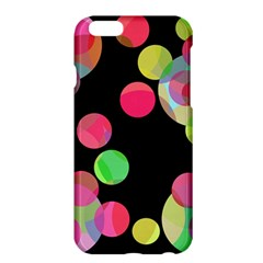 Colorful Decorative Circles Apple Iphone 6 Plus/6s Plus Hardshell Case by Valentinaart