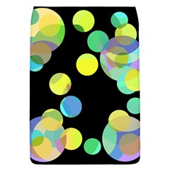 Yellow Circles Flap Covers (l)  by Valentinaart