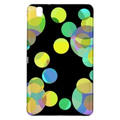 Yellow Circles Samsung Galaxy Tab Pro 8 4 Hardshell Case by Valentinaart