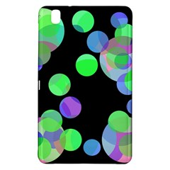 Green Decorative Circles Samsung Galaxy Tab Pro 8 4 Hardshell Case by Valentinaart
