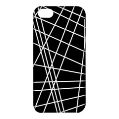 Black And White Simple Design Apple Iphone 5c Hardshell Case by Valentinaart