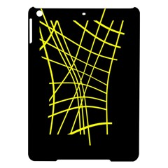 Yellow Abstraction Ipad Air Hardshell Cases by Valentinaart