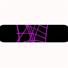 Neon Purple Abstraction Large Bar Mats by Valentinaart