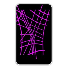Neon Purple Abstraction Memory Card Reader by Valentinaart