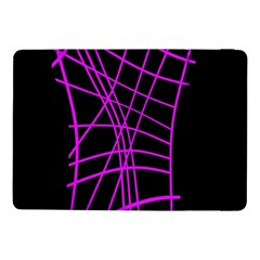 Neon Purple Abstraction Samsung Galaxy Tab Pro 10 1  Flip Case by Valentinaart