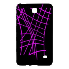 Neon Purple Abstraction Samsung Galaxy Tab 4 (8 ) Hardshell Case  by Valentinaart