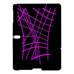 Neon Purple Abstraction Samsung Galaxy Tab S (10 5 ) Hardshell Case  by Valentinaart