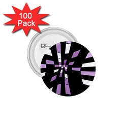 Purple Abstraction 1 75  Buttons (100 Pack)  by Valentinaart