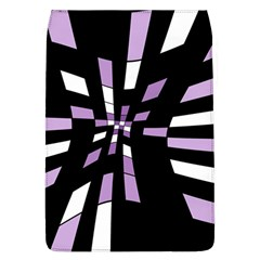 Purple Abstraction Flap Covers (l)  by Valentinaart