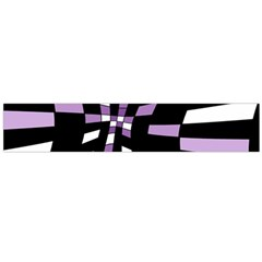 Purple Abstraction Flano Scarf (large) by Valentinaart