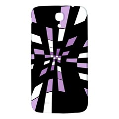 Purple Abstraction Samsung Galaxy Mega I9200 Hardshell Back Case by Valentinaart