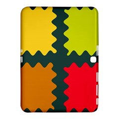 4 Shapes                                                                                 			samsung Galaxy Tab 4 (10 1 ) Hardshell Case by LalyLauraFLM