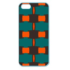3 Colors Shapes Pattern                                                                                  			apple Seamless Iphone 5 Case (color)