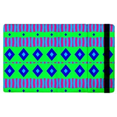 Rhombus And Stripes                                                                                   			apple Ipad 2 Flip Case by LalyLauraFLM