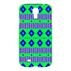 Rhombus And Stripes                                                                                   			samsung Galaxy S4 I9500/i9505 Hardshell Case by LalyLauraFLM