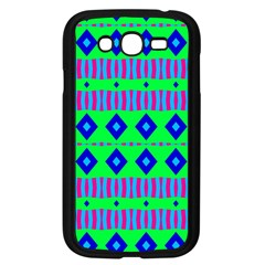Rhombus And Stripes                                                                                   			samsung Galaxy Grand Duos I9082 Case (black) by LalyLauraFLM