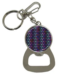 Connected Dots                                                                                     			bottle Opener Key Chain