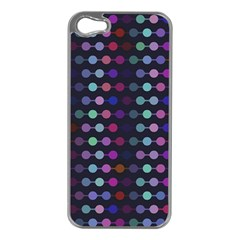 Connected Dots                                                                                     			apple Iphone 5 Case (silver) by LalyLauraFLM