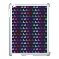 Connected Dots                                                                                     			apple Ipad 3/4 Case (white) by LalyLauraFLM