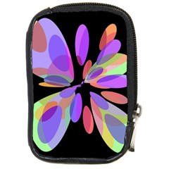 Colorful Abstract Flower Compact Camera Cases by Valentinaart