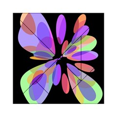 Colorful Abstract Flower Acrylic Tangram Puzzle (6  X 6 ) by Valentinaart