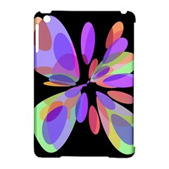 Colorful Abstract Flower Apple Ipad Mini Hardshell Case (compatible With Smart Cover) by Valentinaart