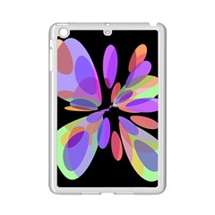 Colorful Abstract Flower Ipad Mini 2 Enamel Coated Cases by Valentinaart