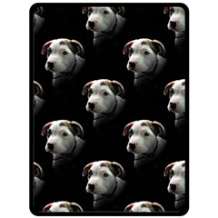 Pit Bull T Bone Puppy Double Sided Fleece Blanket (large)  by ButThePitBull