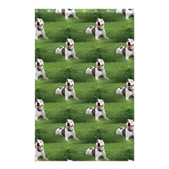 Pit Bull T Bone Shower Curtain 48  X 72  (small)  by ButThePitBull
