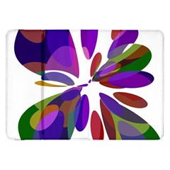 Colorful Abstract Flower Samsung Galaxy Tab 8 9  P7300 Flip Case by Valentinaart
