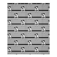 Pit Bull T-bone Shower Curtain 60  X 72  (medium)  by ButThePitBull