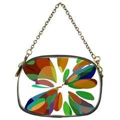 Colorful Abstract Flower Chain Purses (one Side)  by Valentinaart
