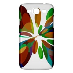 Colorful Abstract Flower Samsung Galaxy Mega 5 8 I9152 Hardshell Case  by Valentinaart