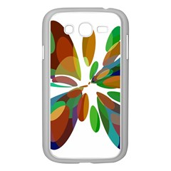 Colorful Abstract Flower Samsung Galaxy Grand Duos I9082 Case (white) by Valentinaart