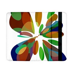 Colorful Abstract Flower Samsung Galaxy Tab Pro 8 4  Flip Case by Valentinaart