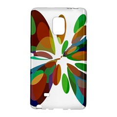 Colorful Abstract Flower Galaxy Note Edge by Valentinaart