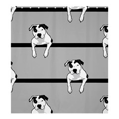 Pit Bull T Bone Shower Curtain 66  X 72  (large)  by ButThePitBull